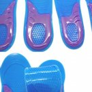 Massaging Gel Insoles for men size 8~12 sport shoes insole silicone Epack