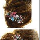 Crystal Alloy Peacock Hairpin Hair Clip