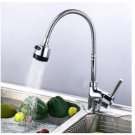 Flexi Veggie sprayer Kitchen Faucet Stainless Single hole E pack