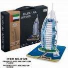 Dubai Burj Al Arab Hotel 3D puzzle B128