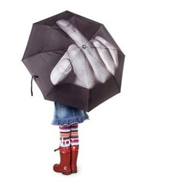 Middle Finger Umbrella Up Yours Umbrella Weird