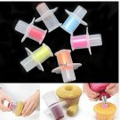 Kitchen Cake Core Remover Cake Cupcake Plunger Corer Decoration Kit Set