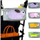 Multisuse Baby Strollers Organizer Stroller Accessories   Cart Bottle Diaper Bag Polyester