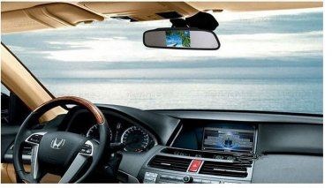 4.3 Inch TFT Car Monitor Mirror View Rearview Auto LCD