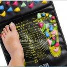 Pain Relieve Massager Mat Reflexology 69cm x35cm Walk Stone Foot Massage Pad Health Care