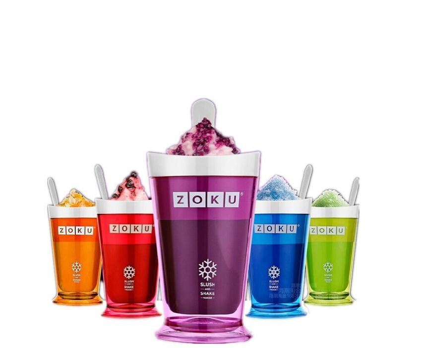 Zoku fruit juice smoothie cup DIY milkshake cup ice cream machine