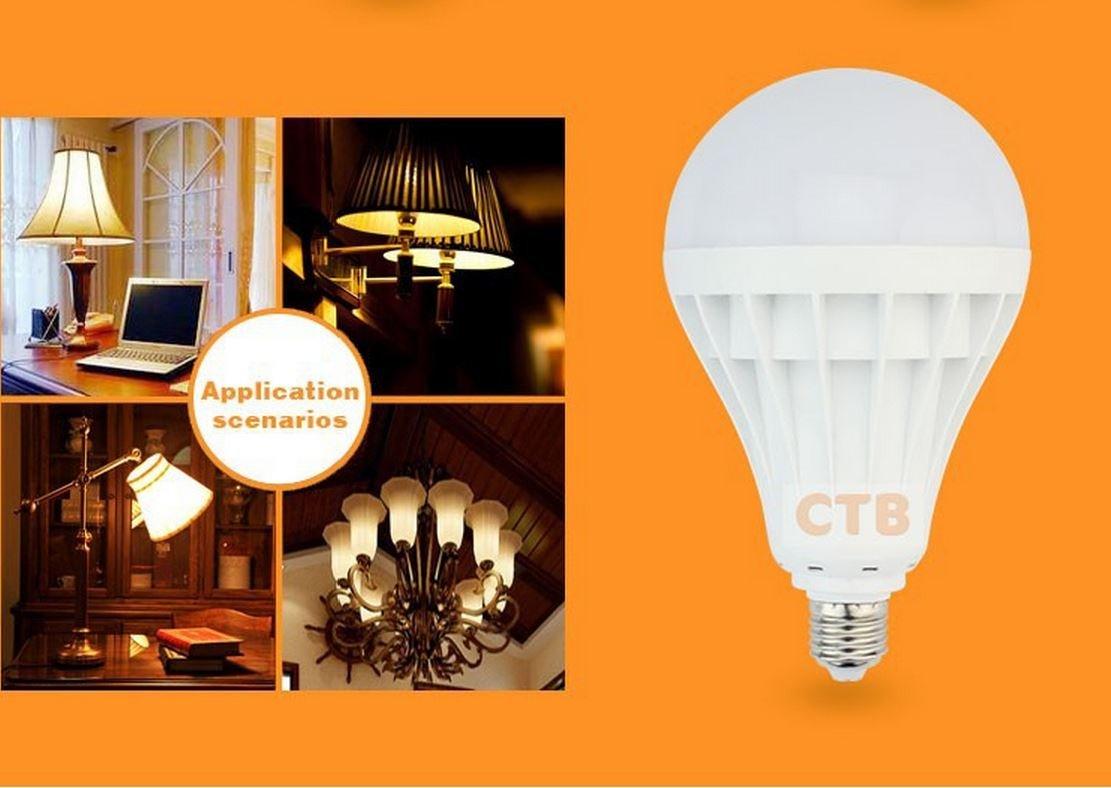 4PCS E27 5W ENERGY SAVING LED BULB 110-220 VOLT Unit price $2.18
