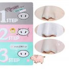 Pig Nose Clear Black Head 3 Step Kit Whitening Beauty Cleaning