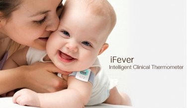 IFEVER BLUETOOTH THERMOMETER BABY WEARABLE