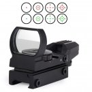 20mm Rail Riflescope Hunting Tactical Holographic Red Green Dot Sight Scope