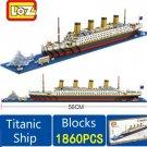 LOZ BLOCKS 1860 PCS TITANIC SHIP MODEL BUILDING BLOCKS Creator