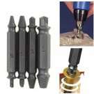 4 in 1 Screw Extractor Drill Bits Guide Set Broken Damaged Bolt Remover