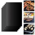 5pcs/Set Reusable BBQ Grill Mat  Easy Clean Nonstick Bakeware Cooking Tool
