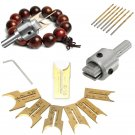 16Pcs Carbide Ball Blade Drill Bits Woodworking Molding Tools