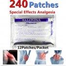 HISAMITSU SALONPAS MUSCLE SORE SHOULDER ARTHRITIS ACHES 240 patches
