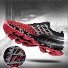 Phymonal Red Running Shoes Sneakers Mesh Unisex