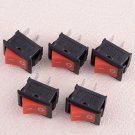 5Pcs Flameout Part Stop Kill ON-OFF Switch for Chinese 25cc 26cc Chainsaw