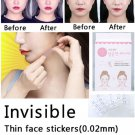 80 pcs FACE MAKER lift face sticker Thin face stick face artifact invisible sticker lift