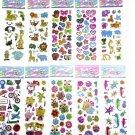 e Pet DIY Stickers Cartoon Children Stickers Toys Emoji PVC Scrapbook Gifts For Kids