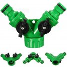 Hose Pipe Tool 2 Way Connector Adapter 2 Way Tap Garden Hoses Pipes Splitters