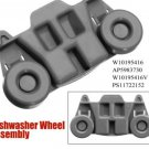 Dishwasher Wheel Assembly AP5983730 W10195416 PS11722152 for Whirlpool Sears ETC