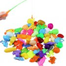 32pcs/lot Magnetic Fishing Toy Rod Net Set for Kids Child Model Play Fishing Games