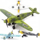 1/48 Scale Assemble Fighter Model Toys Sets Flanker Combat Aircraft Diecast War-II BF-109