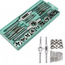 Tap Die Wrench Threaded Cutting Set M3-M12 Pro Metric Plug Tap Threaded Cutters Tool