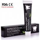 Bamboo Natural Activated Charcoal Teeth Whitening Toothpaste Oral Hygiene Dental FDA CE