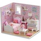 GIRL'S ROOM DOLL HOUSE FURNITURE DIY MINIATURE DUST COVER Dollhouse Toys