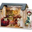 Holiday DOLL HOUSE+ FURNITURE DIY  Dollhouse Toys