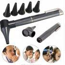 Otoscope Set Penlight Ear Health Care Medical Equipments Flashlight Magnifying Len