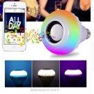 Bluetooth Bulb Lamp Speaker + remote 12W RGB Bulb LED    Smart Led Light Music Player Audio