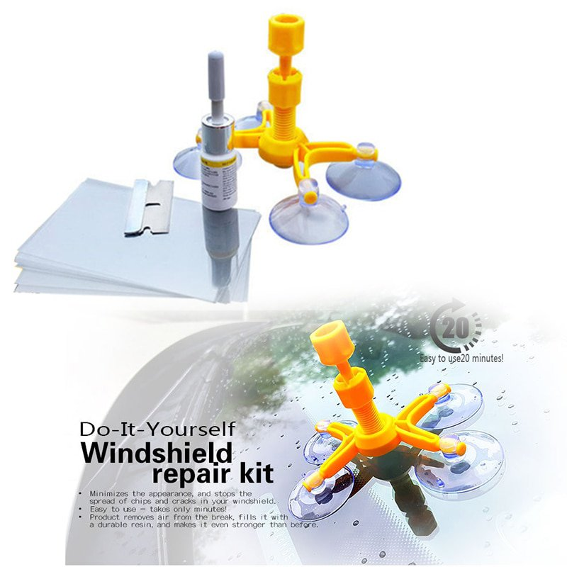 Windshield Repair Kits DIY Car Window Repair Tools Glas