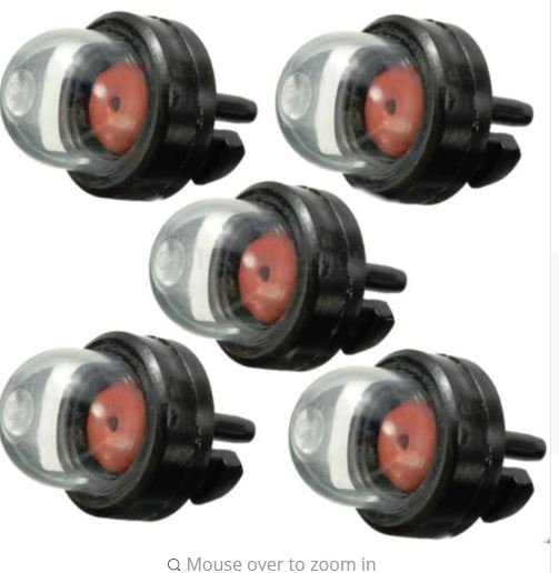 Primer Bulb Fuel Pump Bulbs for Chainsaws  X5