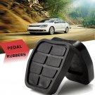 2 PCS  Foot Pedal Rubbers Brake Clutch Pads For VW Golf Jetta
