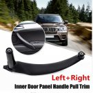 Left or Right Front rear Car Interior Door Handles Inner Door Panel Handle Pull Trim Cover For BMW