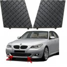 Black Front Bumper Lower Mesh Grill Trim Cover Pair Left Right For BMW E60 E61 M