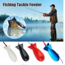 Rocket Squid Bomb Fishing Gear Feeder Particle Rocket Feeder Float Bait Holder Tool