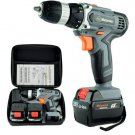 25V handheld electric drill lithium cordless drill   screwdriver 2 Batteries+1bag+2Gift