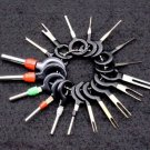 Car Electrical Terminal Remove Key Tool Set Key Pin Car Electrical Wire Crimp Connector Extractor