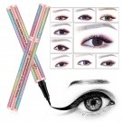 Starry Sky Eye Liner Pencil Long Lasting Waterproof Eyeliner Pen Smudge-Proof