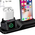 3 in 1 Charging Dock Holder  For Apple Watch  AirPods  Phone