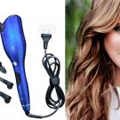 Tulip shaped curling iron automatic infrared heating  liquid crystal curling iron