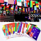 Euro Cup Country Flag Bunting String National Flags Banner Football Garlands Quality Home Decor
