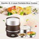 Portable  Meal Thermal Heating Automatic Food Container Warmer Cooking Pot