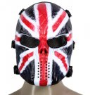 Skull Airsoft Mask Paintball Full Face Party Mask Halloween Costplay model 1