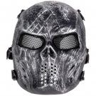 Skull Airsoft Mask Paintball Full Face Party Mask Halloween Costplay model 3