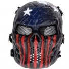 Skull Airsoft Mask Paintball Full Face Party Mask Halloween Costplay model 4
