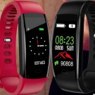 Smart Fitness Men   Smart Band Blood Pressure Heart Rate Monitor Wristband for Android IOS